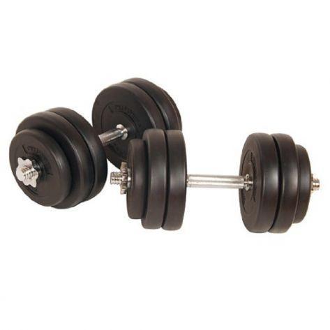 PROGYM Set fitnes uteži (2x 15kg)
