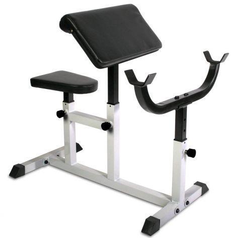 PROGYM Upogibna Klop za Biceps – Preacher Bench