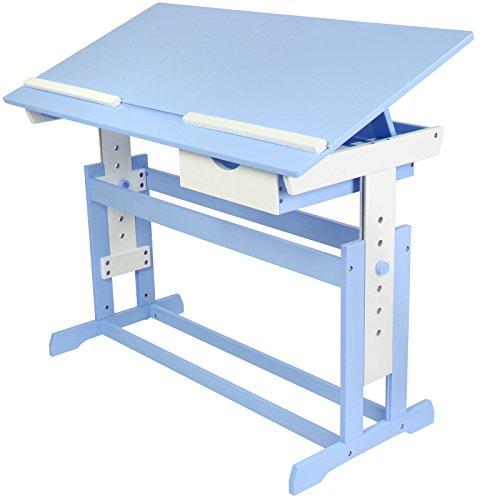 Pisalna miza za otroke – modra