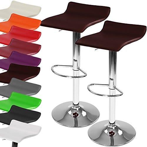 Barski stol – pravokotni sedež