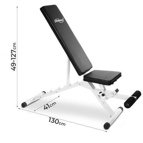 Nastavljiva fitnes klopca do 200kg