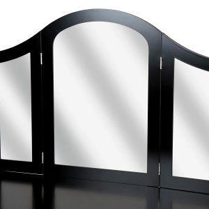 Kozmeticna-miza-s-stolom-in-tremi-velikimi-ogledali-Marvel-crna-nizka-cena