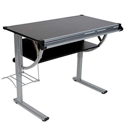 Kovinska pisalna miza z nastavljivo višino za odrasle in otroke