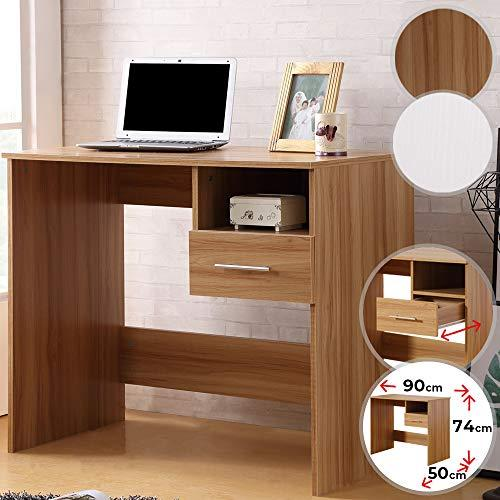 Funkcionalna lesena pisalna miza s predali cena