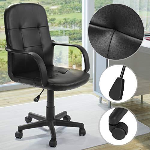 Pisarniški stol črne barve cena