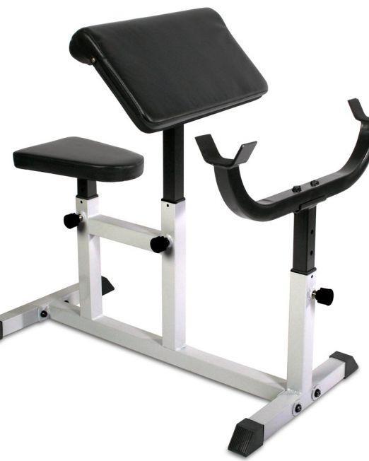 PROGYM Upogibna Klop za Biceps - Preacher Bench nastavljiva