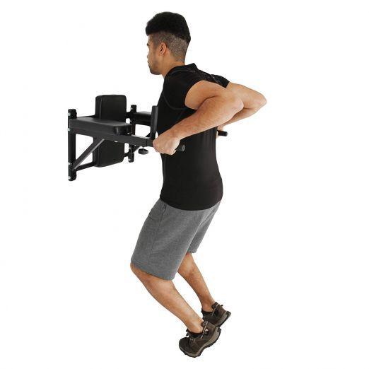 Dip station za trebušne mišice in roke fitnes doma