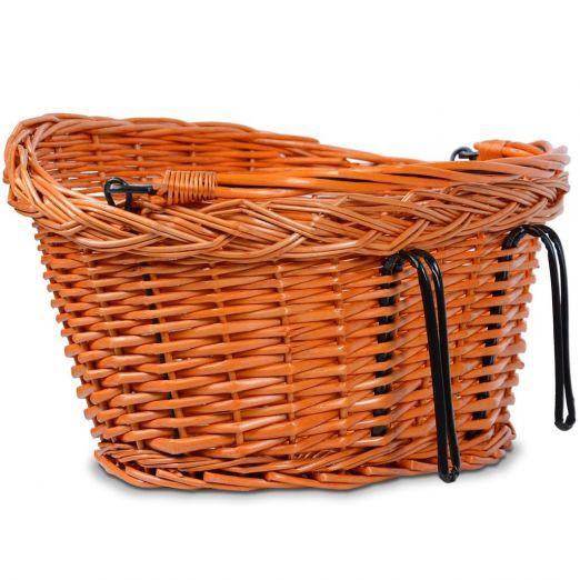 Pletena nakupovalna košara za kolo nizka cena