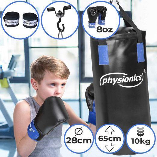 Boksarska vreča za otroke z rokavicami poceni