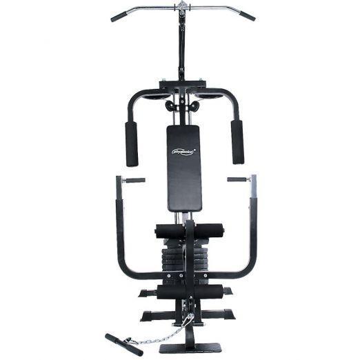 Večnamenska fitnes naprava z utežmi 40kg poceni