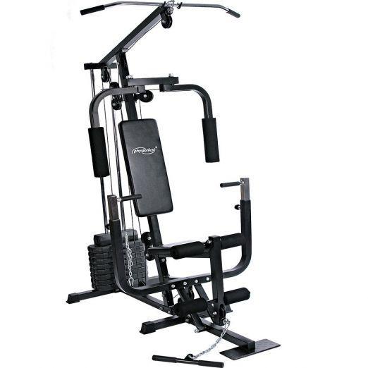 Večnamenska fitnes naprava z utežmi 40kg