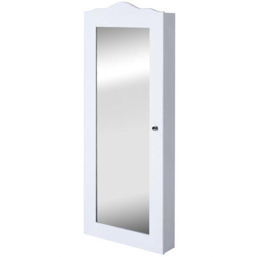 Omara-za-shranjevanje-nakita-z-ogledalom-Elena-bela-cena-cena