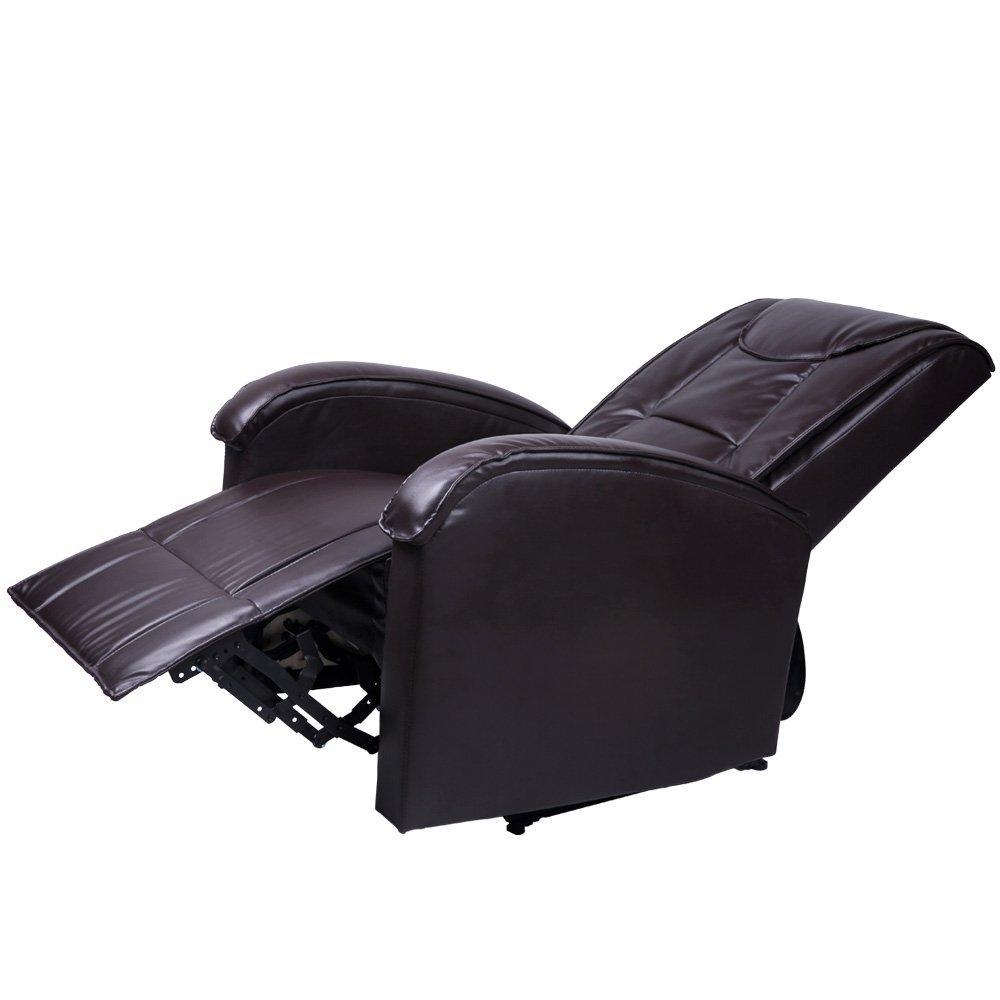 Udoben usnjen fotelj počivalnik nizka cena
