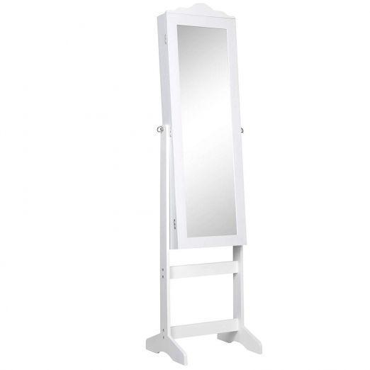 Samostojece-ogledalo-za-shranjevanje-nakita-Anabelle-bele-barve