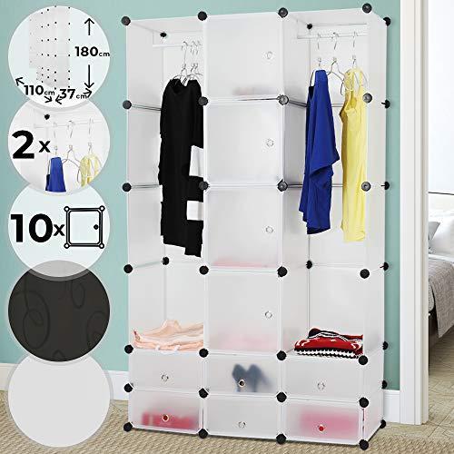 Plastična omara za garderobo z dodatki za organizirano garderobo cena