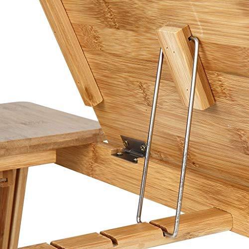 Bambusovo leseno stojalo za prenosnik nizka cena