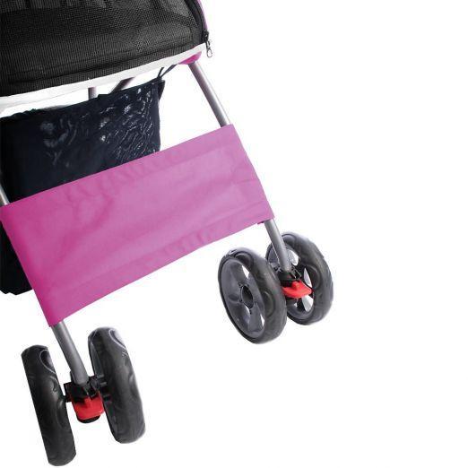Voziček za psa, kužka - roza barve cena