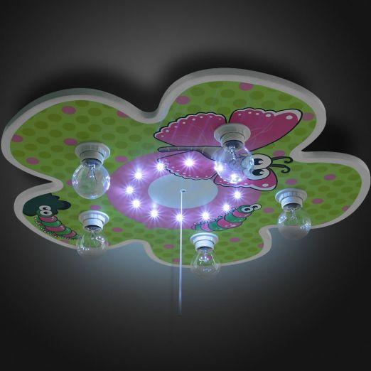 Stropno svetilo za otroško sobo s prisrčnim cvetličnim dizajnom cena