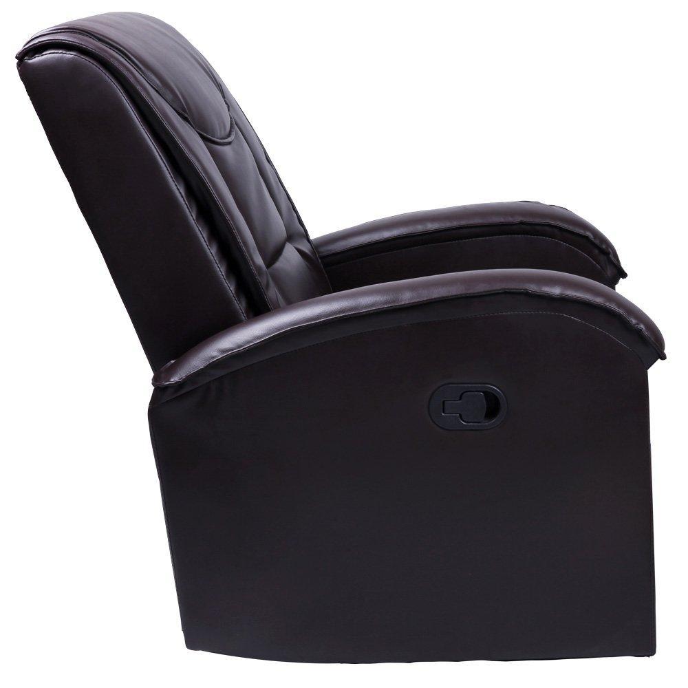 Udoben usnjen fotelj ugodno
