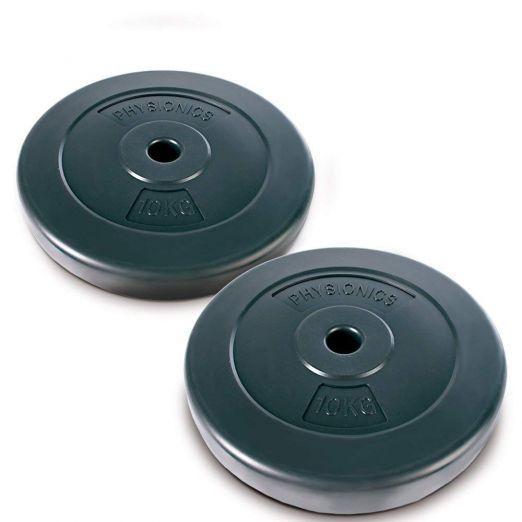 Fitnes uteži, fitnes koluti 2 x 10 kg