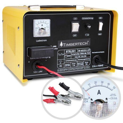 Priročen polnilec za akumulator 12V in 24V - moč 700W