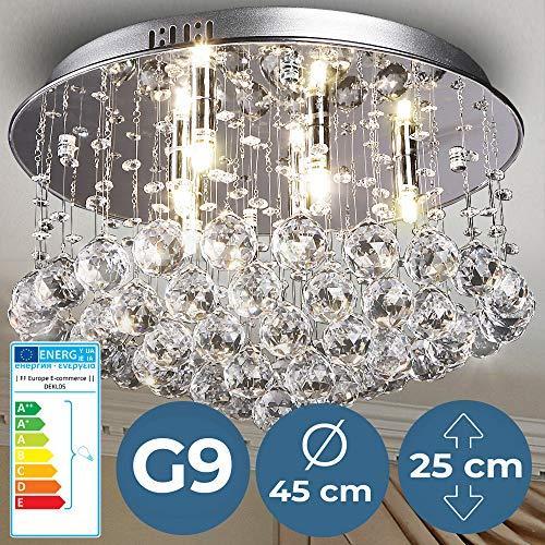 Kristalni stropni lestenec elegantnega dizajna za vsak dom