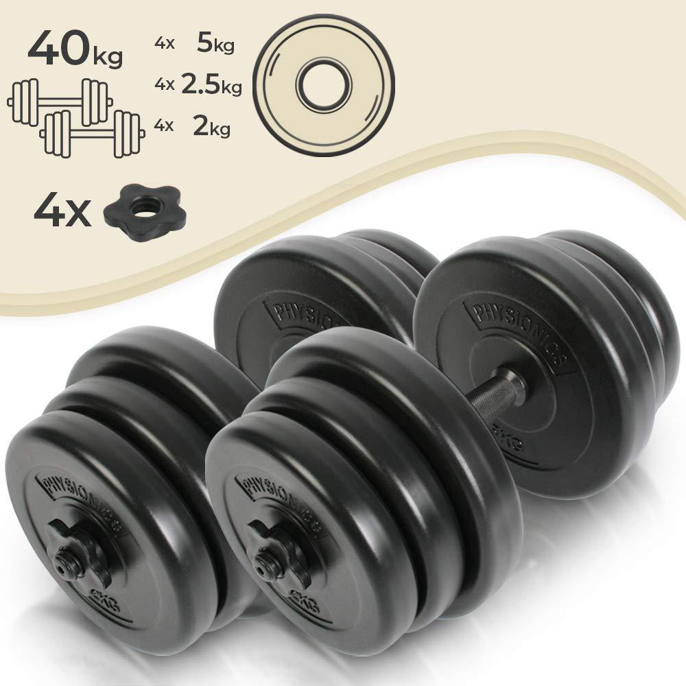 Set prostorčnih fitnes uteži 2 x 20 kg