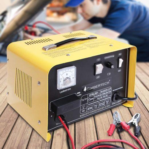 Priročen polnilec za akumulator 12V in 24V - moč 700W cena