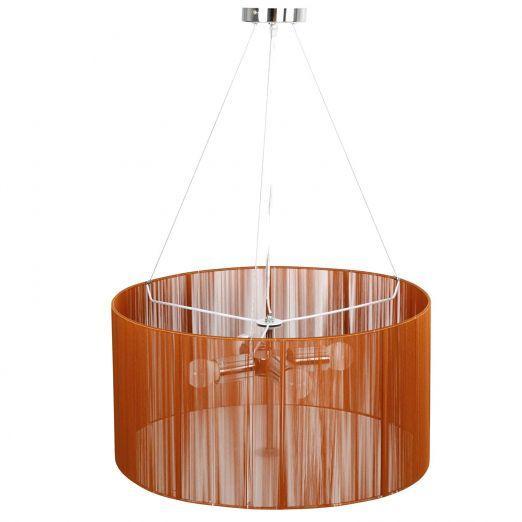 Retro stropna luč v barvi kave A++