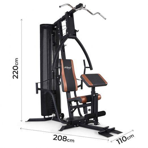 Profesionalna multifunkcijska fitnes naprava za vse mišične skupine