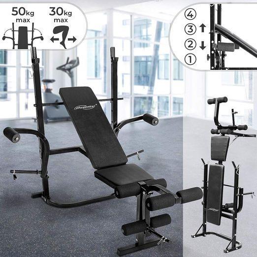 Zložljiva multifunkcijska fitnes bench klop za raznovrsten trening cena