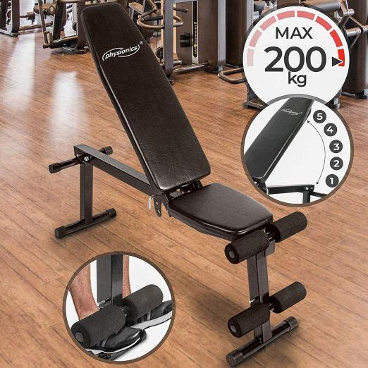 Nastavljiva fitnes klop za raznovrsten trening cena
