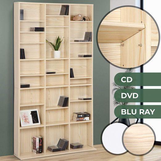 Knjižni regal za knjige ali DVDje iz bukve cena