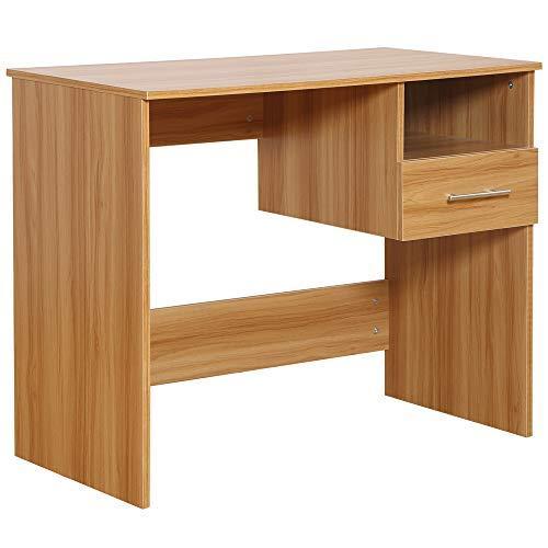 Lesena pisalna miza poceni