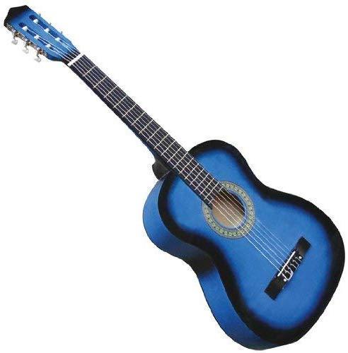 Večbarvna klasična akustična kitara 4/4