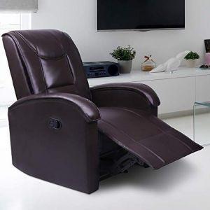 Eleganten usnjen fotelj za dnevno sobo akcija poceni