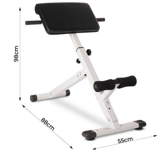 Fitnes naprava za krepitev hrbta in ostalih mišic