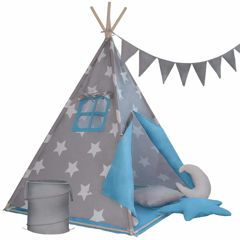 Otroški šotor - moder