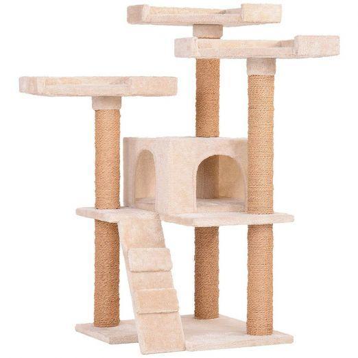 Mačje drevo za plezanje in praskanje