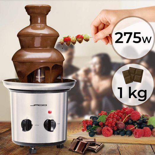 Čokoladna fontana s toplotno funkcijo cena