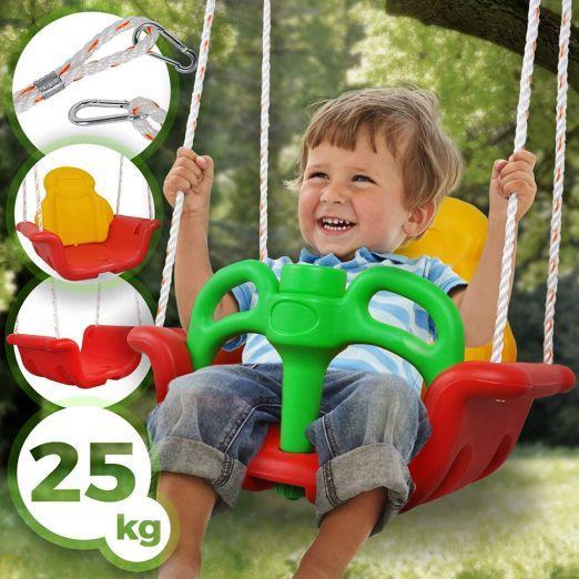 Plastični otroški gugalnik za vrt  cena