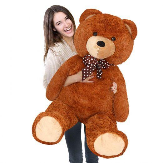 Brown Teddy Bear 135cm