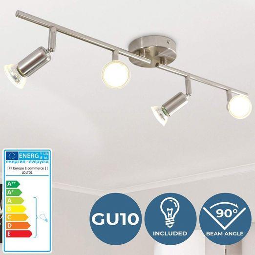 Stropna luč s 4 LED žarometi razred A cena