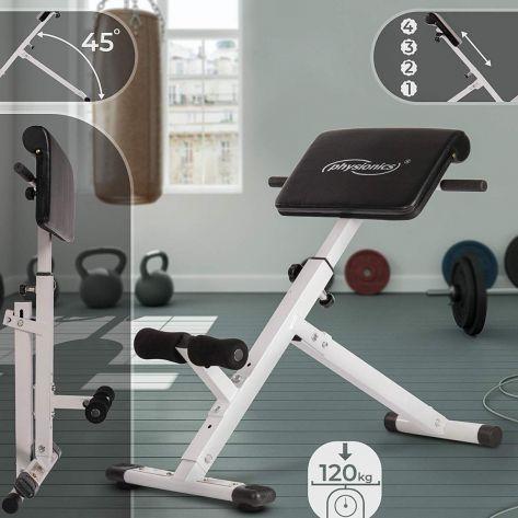 Fitnes naprava za krepitev hrbta