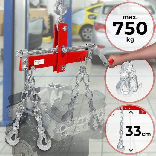 Nastavljivo dvigalo za dvigovanje in zmanjšanje obremenitve cena
