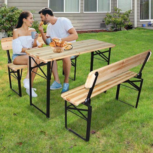 Set mize in klopi za piknike cena