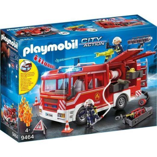Gasilsko vozilo za otroke z dodatki