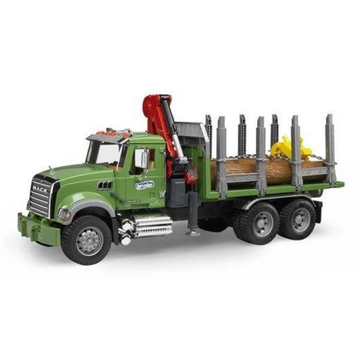 Tovornjak za nalaganje hlodov z veliko dodatki