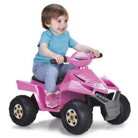 Električni štirikolesnik za otroke v roza barvi cena