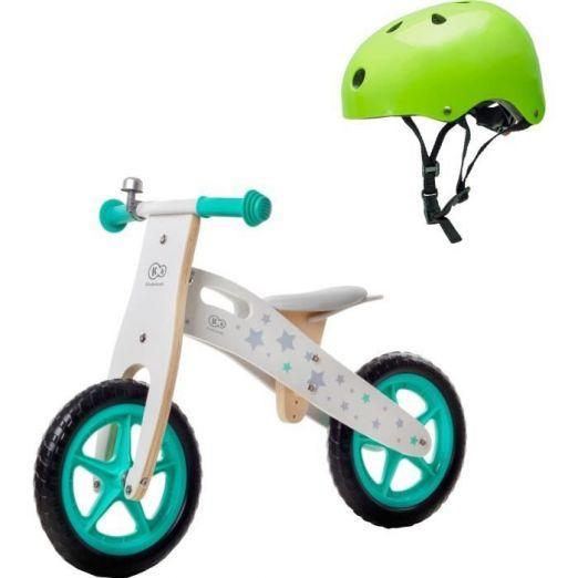 Leseno kolo za otroke s čelado za učenje kolesarjenja